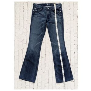 7 For All Mankind Jeans - 7 For All Mankind A Pocket Blue Jeans